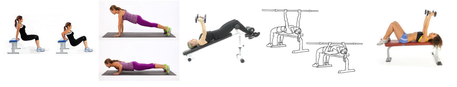 como disminuir el busto - ejercicios